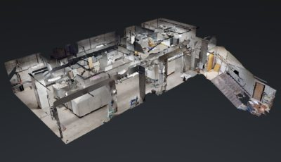 School Mechanical Room 3D Model